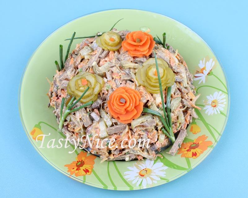 Салат обжорка