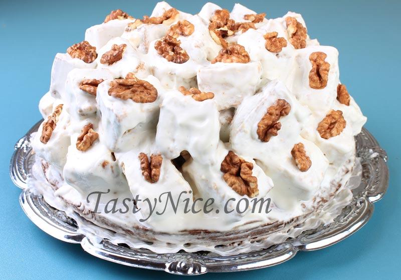 Торт ванька кучерявый