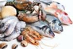 Натрий в морепродуктах