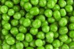 Сера в зеленом горошке